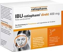 Angebot IBU-rationpharm direkt 400mg*